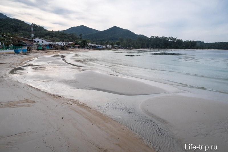 Вид на Чалоклам в сторону пляжа Малибу