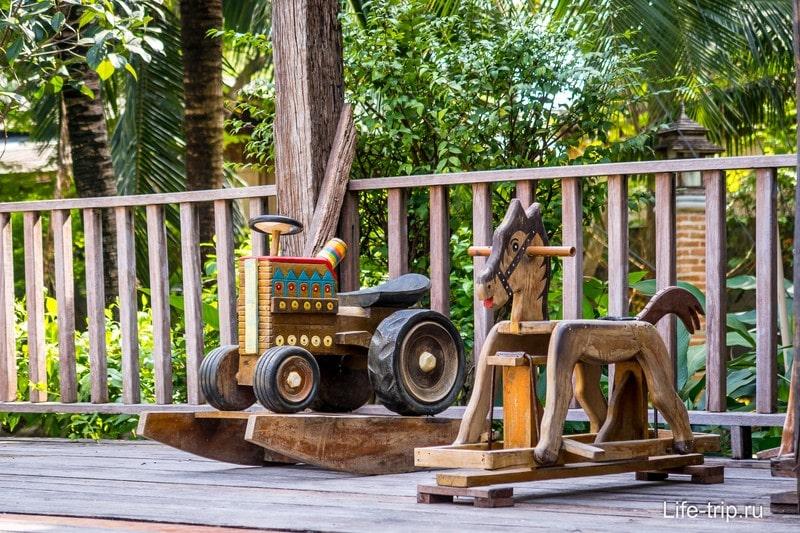 Деревянные игрушки как из детства