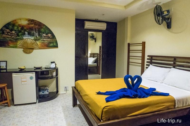 Мой номер в отеле на Пангане