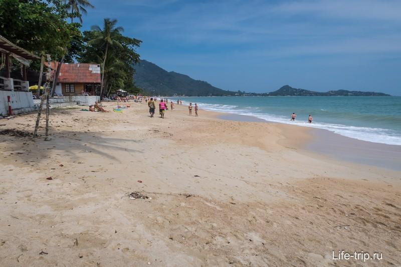 Пляж Ламай, один из лучших на острове