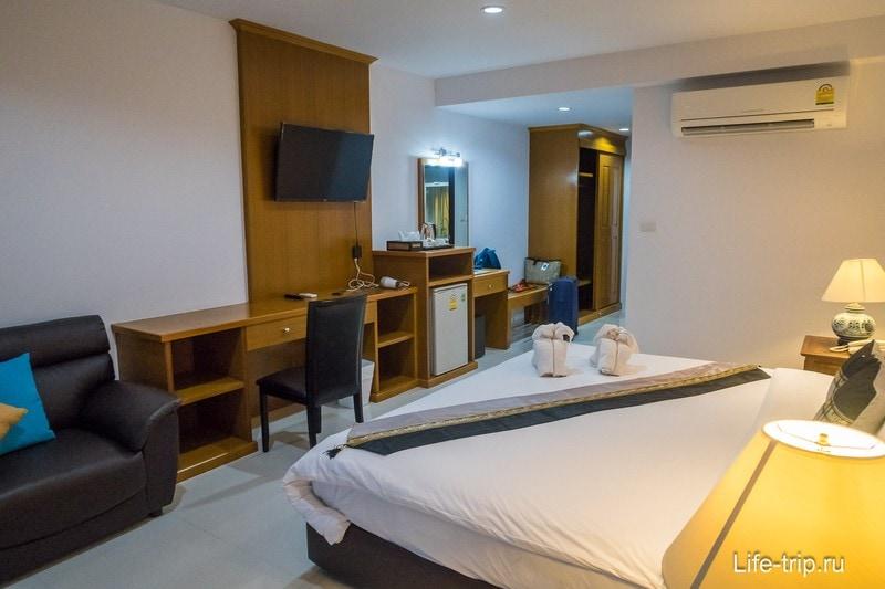 Lamai Coconut Beach Resort - один из лучших отелей на пляже Ламай
