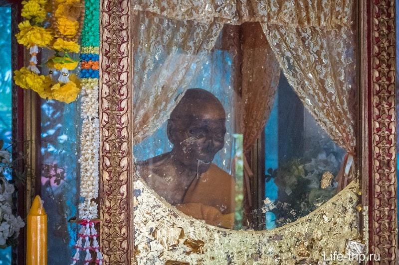 Вот как мумия смотрится без очков