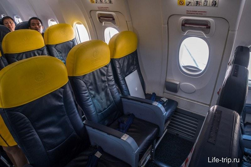 Мое премиум место в самолете Nok Air