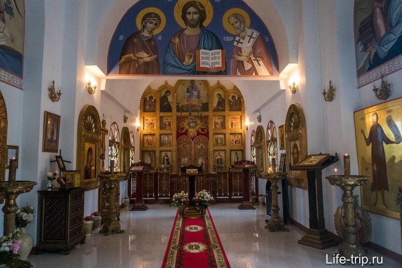 Православный храм на Самуи - храм Вознесения Господня