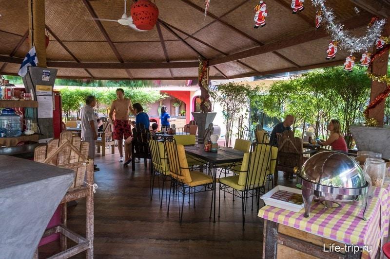 Ресторан по центру отеля