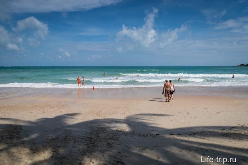 Для купания и пляжного отдыха, маленький Хадрин подходит более чем.
