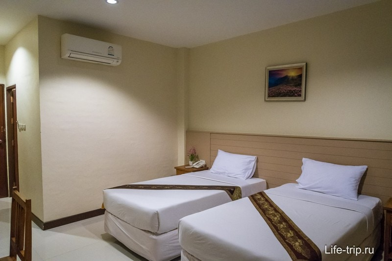 Один из лучших бюджетных отелей на Пангане - Phangan Island View