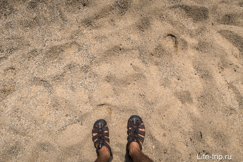 Пляж Вай Нам (Haad Wai Nam) - миниатюрный и красивый