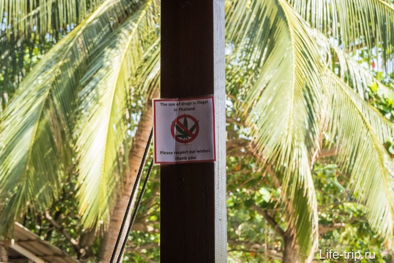 Курить на территории реста нельзя