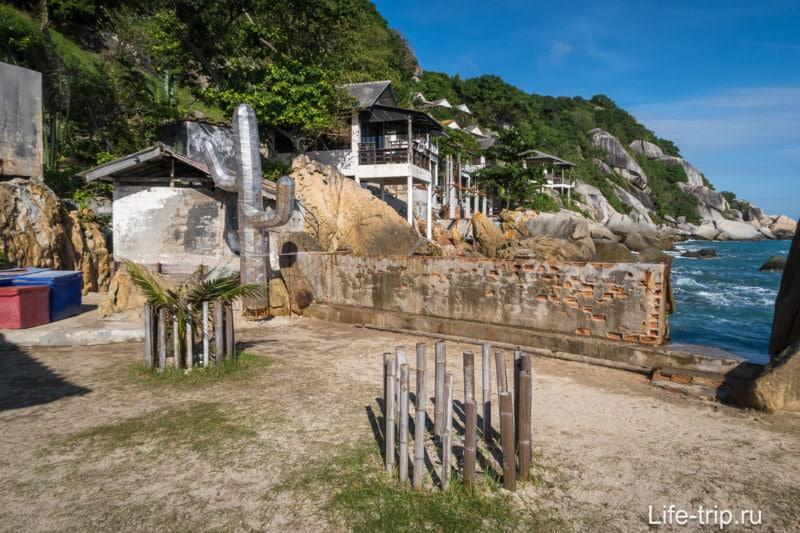 Lighthouse на Пангане - техно вечеринки, бар и бунгало