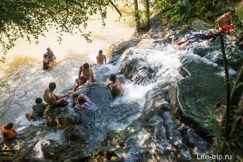 Namtok Ron Hot Stream Waterfal