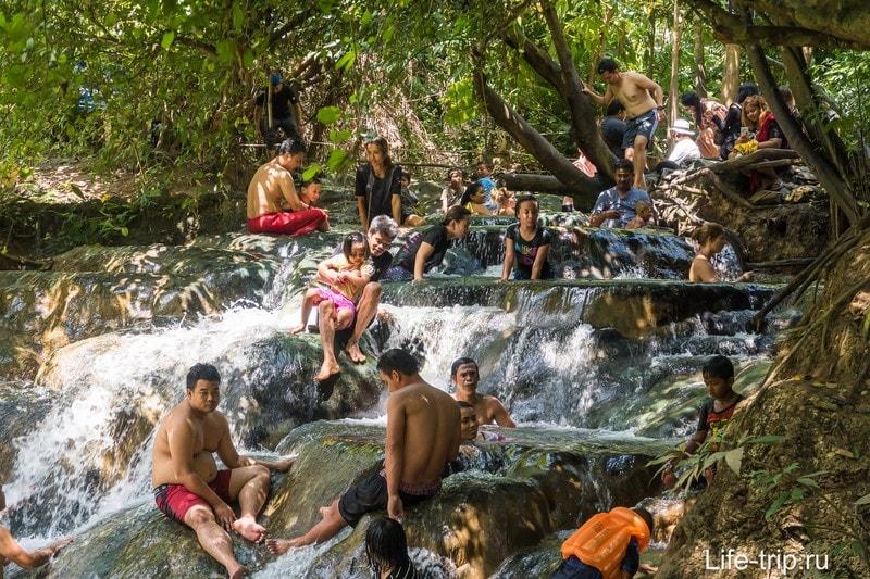 Горячие источники в Краби или Hot Springs - когда хочется поддать жару