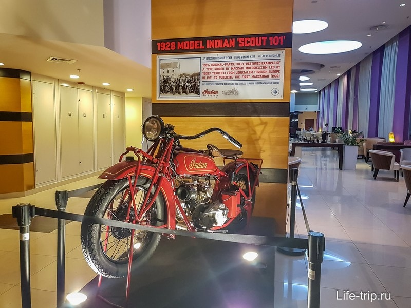 Модель мотоцикла лохматых годов
