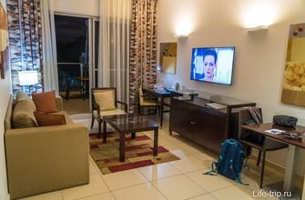 Люкс в отеле Kfar Maccabiah