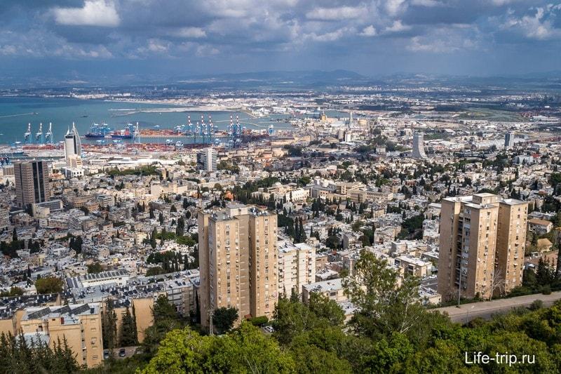 Хайфа - город у моря