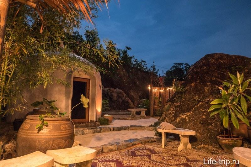 Сауна The Dome на Пангане