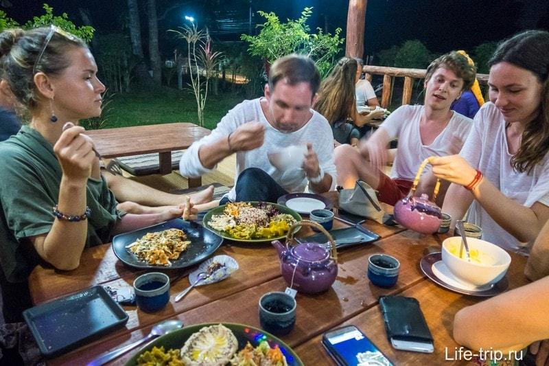 Вегетарианский ресторан на Пангане - Akasha Home или Macrobiotic