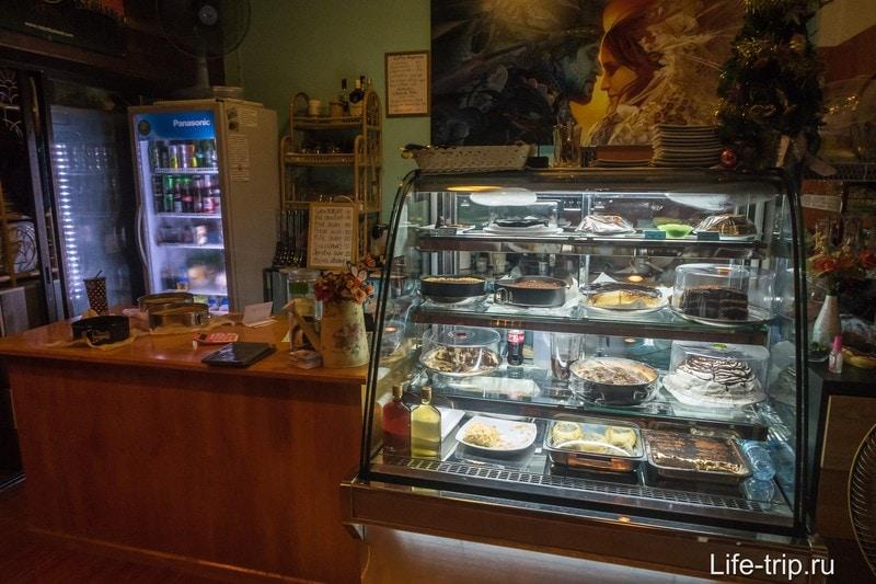 Кафе Sweet Shell на Пангане - для сладкоежек и любителей русской кухни