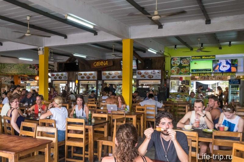 Пантип Маркет на Пангане - дешевая еда и место для встреч