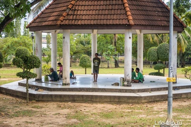 Королевский парк Рамы 9 на Пхукете