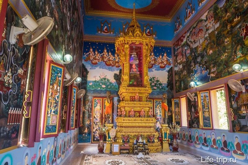 Храм Као Ранг на Пхукете - около смотровой площадки Ранг Хилл
