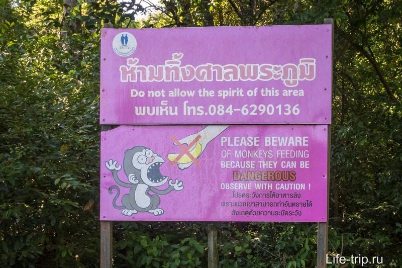 Предупреждение у подножия холма, которое все игнорируют