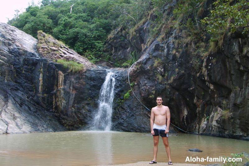 Чаша и второй водопад Wang Sai