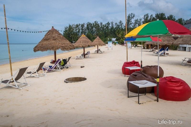 Отель на первой линии на пляже Шритану - Nice Sea Resort