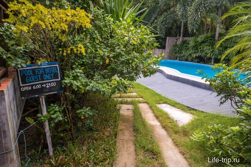 Отличный отель около Тонг Сала - бунгало Mangrove Villa