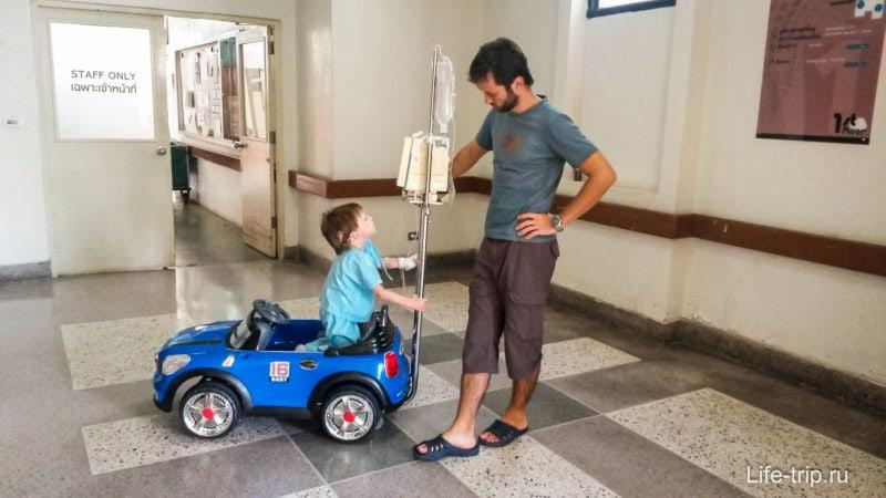 Иногда Денге проходит в госпитале