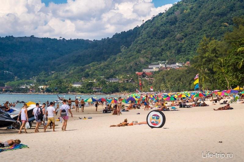 Пляж Патонг - самый людный и шумный