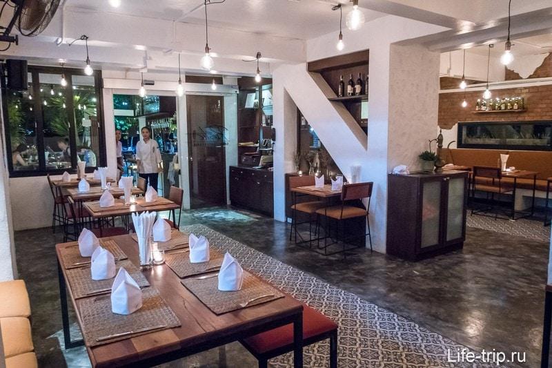 Ресторан Rustic на Пхукете