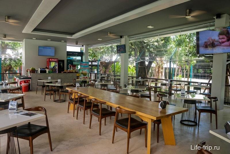 Столики открытого кафе