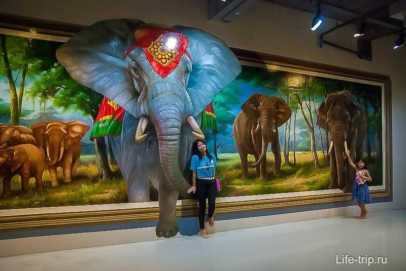 Иногда еще называют 3Д музей в Паттайе