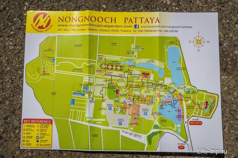 Карта Нонг Нуч