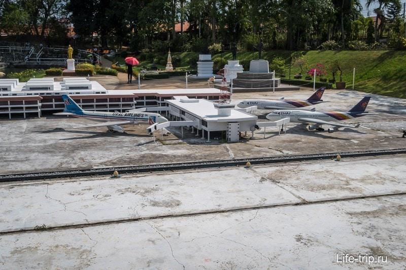 Макет аэропорта Дон Муанг в Бангкоке