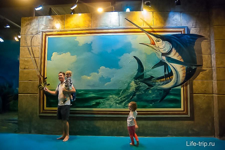 3Д галерея в Паттайе - селфи аттракцион для детей и взрослых