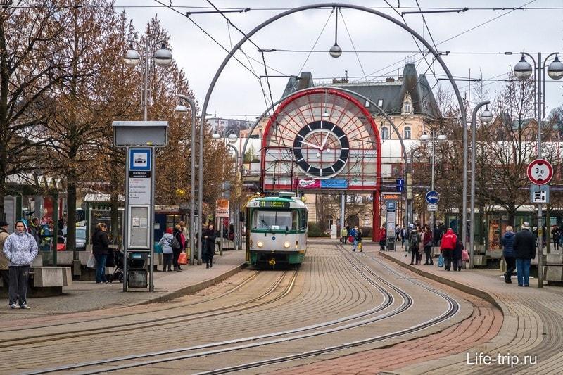 Главный транспорт в городе