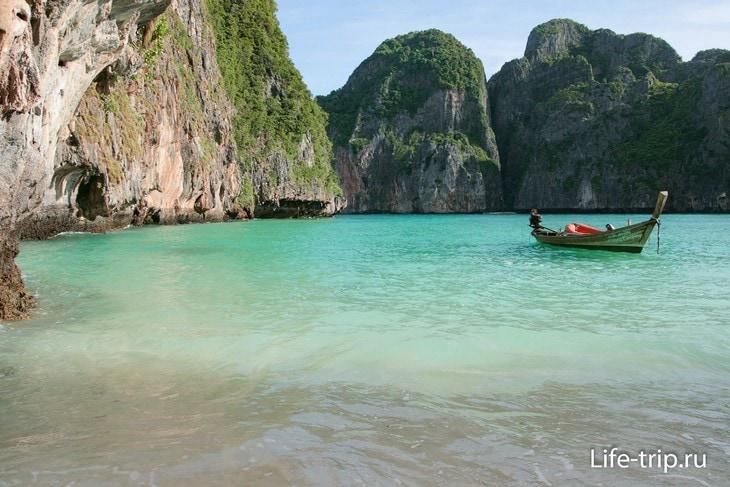 Таиланд закрыл для туристов бухту Майя-Бэй еще на два года