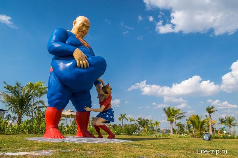 Love Art парк в Паттайе