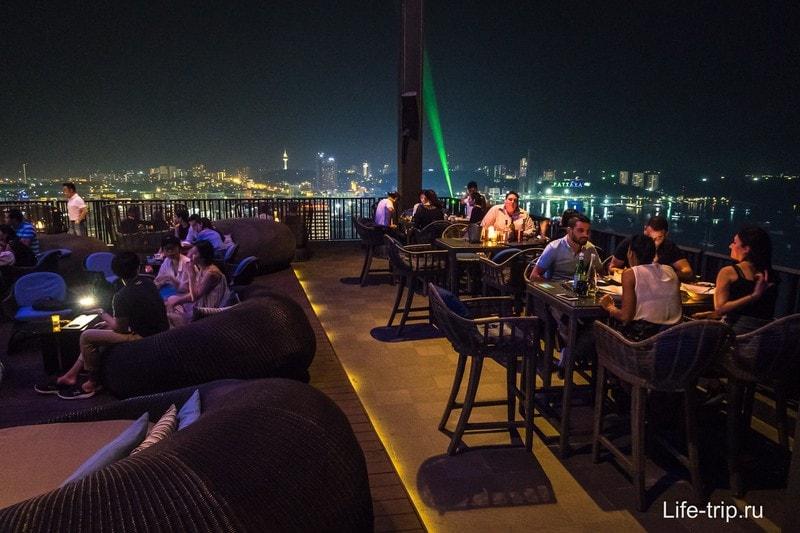 Ресторан Horizon и вид на Паттайю