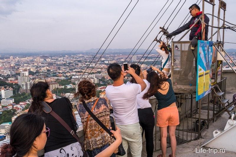Башня Паттайя Парк - смотровая и мой НЕ эпический спуск