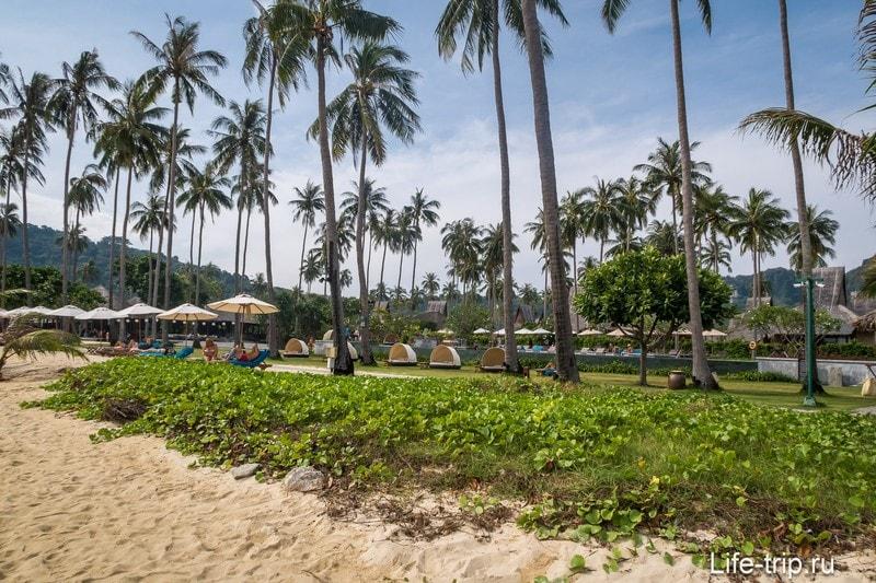 Пляж Ло Ба Као (Lo Ba Kao Beach) - лучший выбор для длинного отпуска на острове Пхи-Пхи Дон