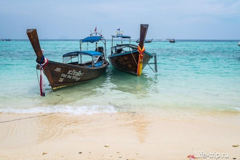 Пляж на острове Бамбу недалеко от Пхи-Пхи Дона