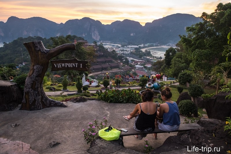 Смотровая площадка номер 1 на островах Пхи-Пхи