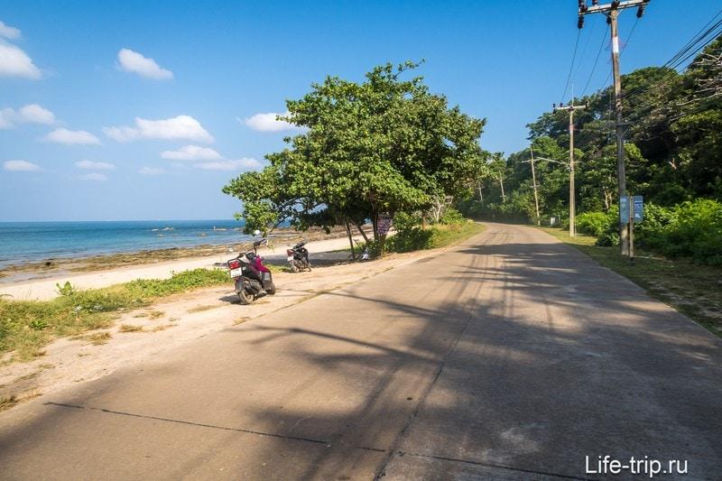Клонг Хин (Klong Hin) на Ланте - пляж для выживальщиков