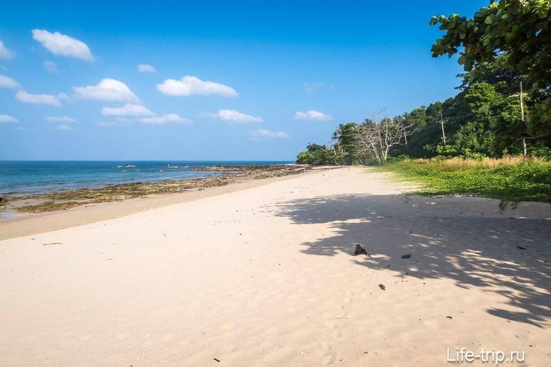 Пляж Клонг Хин на Ланте