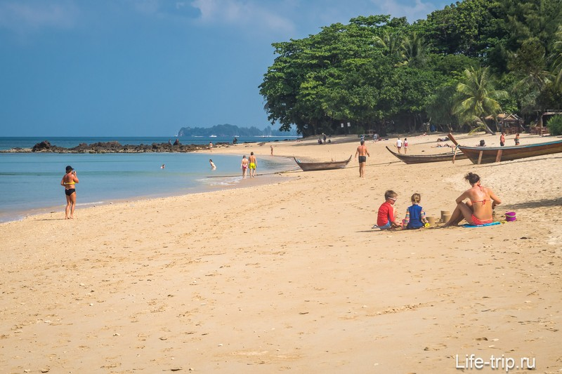 Пляж Релакс на Ланте