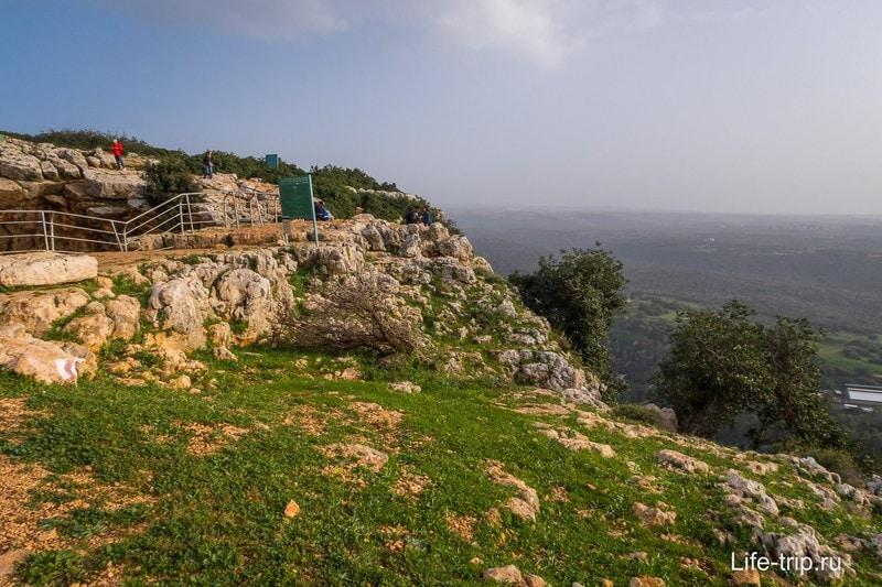 Потрясающая скала на севере Израиля - Adamit Park и Keshet cave