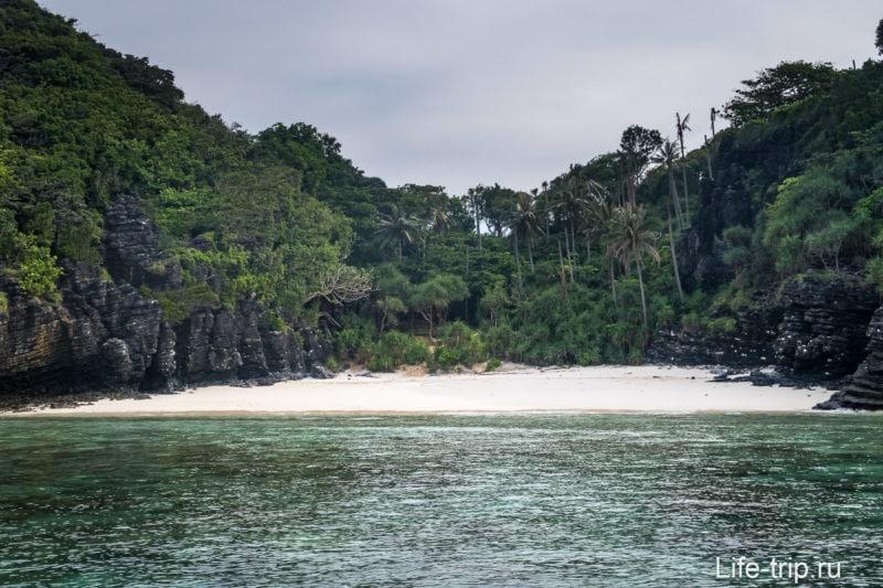Пляж Нуи на Пхи-Пхи Доне